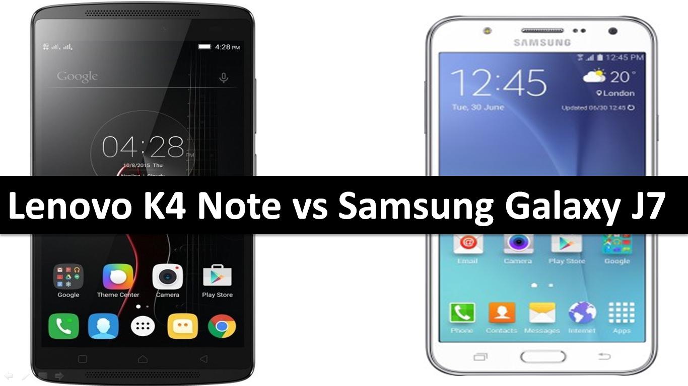 Lenovo K4 Note vs Samsung Galaxy J7 - GSE Mobiles
