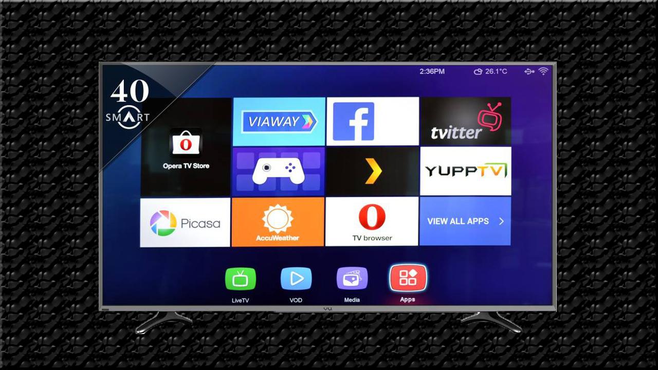 Vu 40k16 Ultra HD (4K) 40 inch Smart LED TV