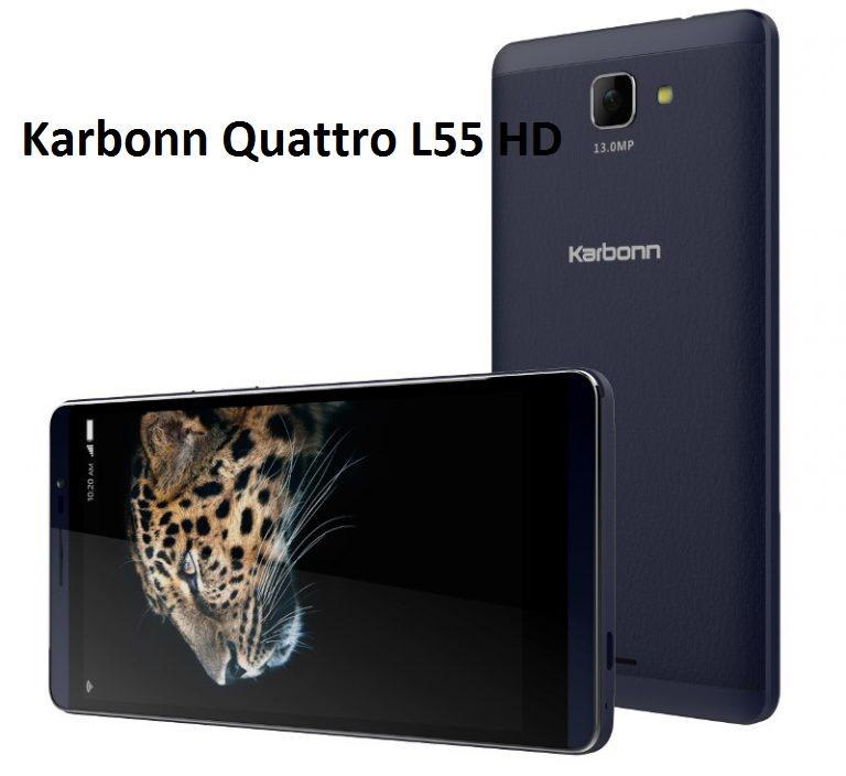 Karbonn Quattro L55 HD