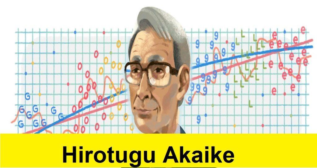 Hirotugu Akaike Google Doodle
