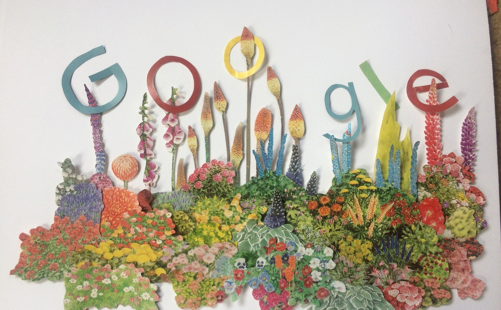 Gertrude Jekyll's 174th Birthday Google Doodle
