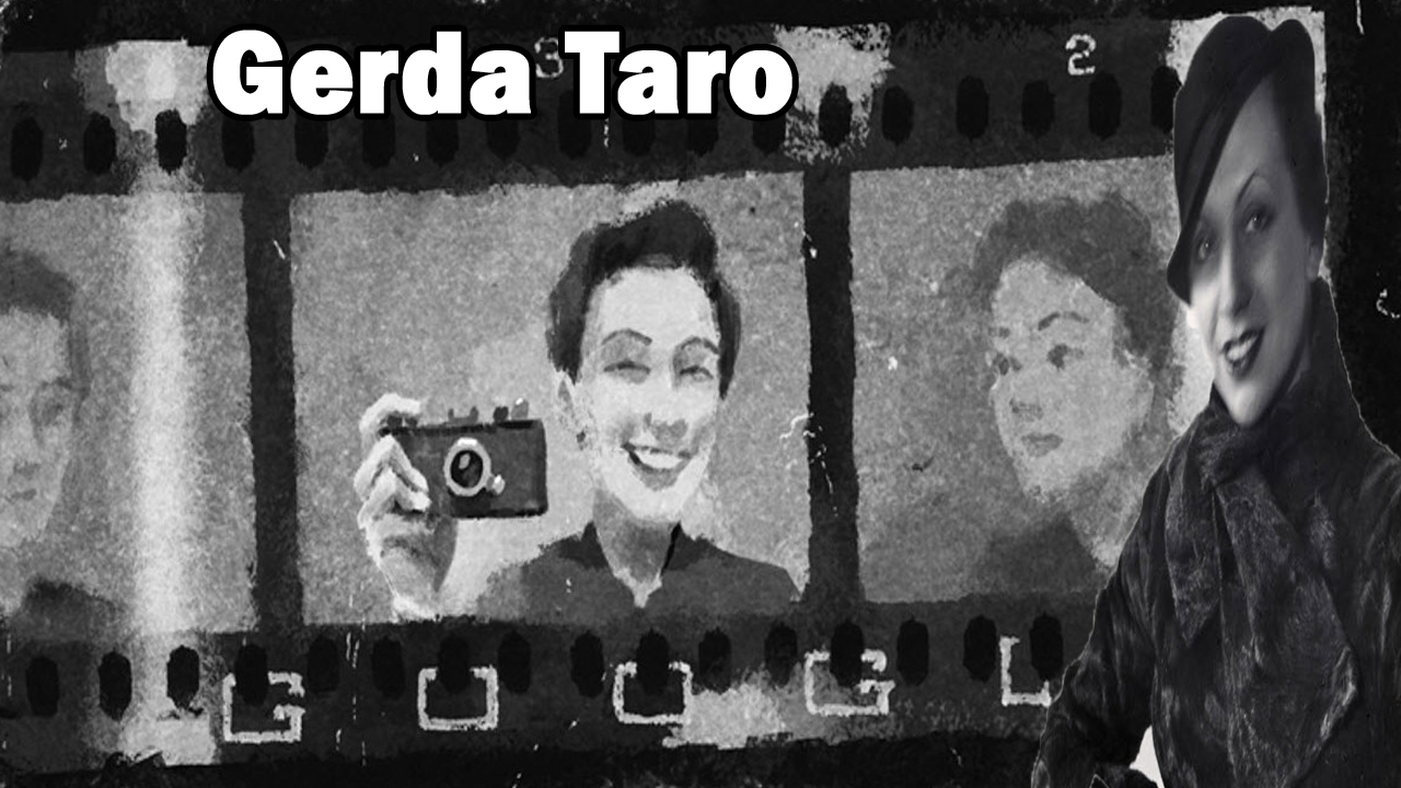 Gerda Taro's 108th Birthday