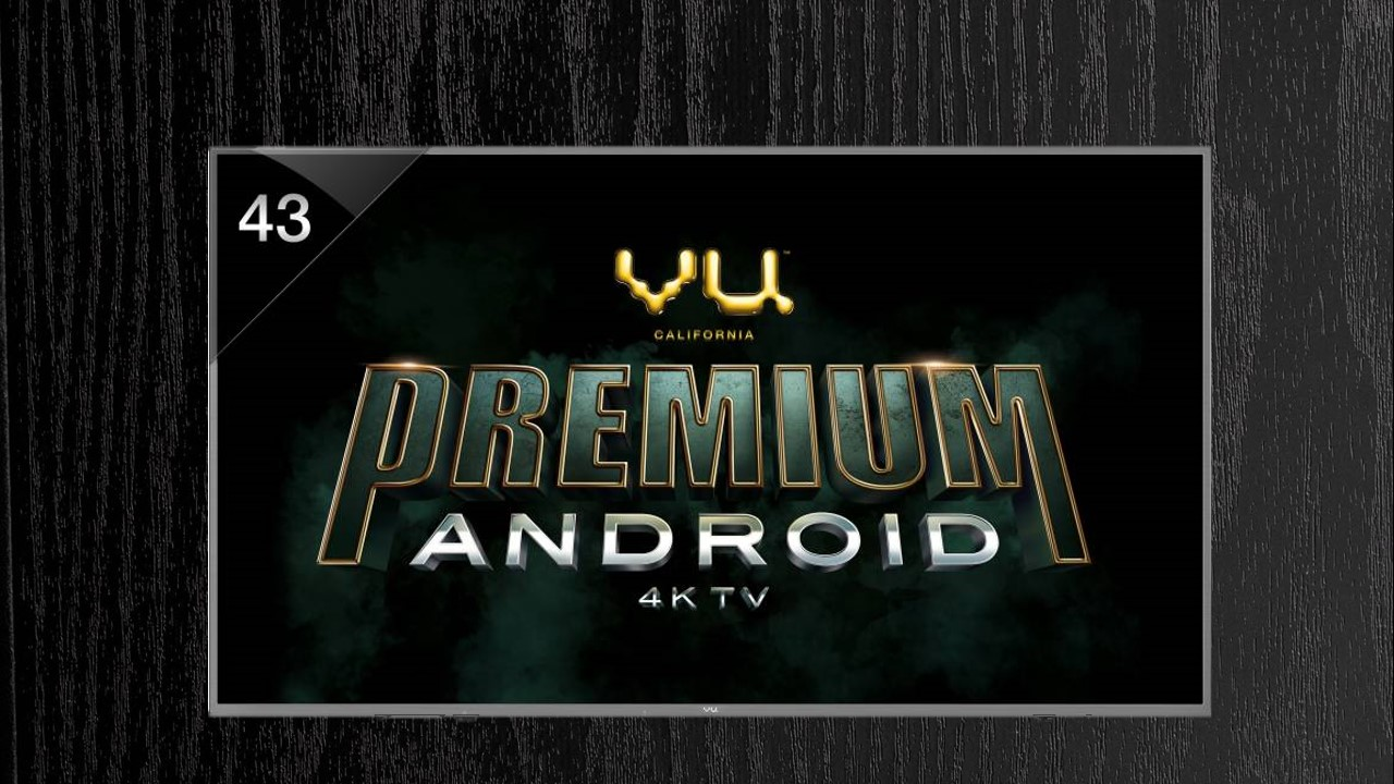 Vu (43-OA) Android (43 inch) Ultra HD (4K) LED Smart TV