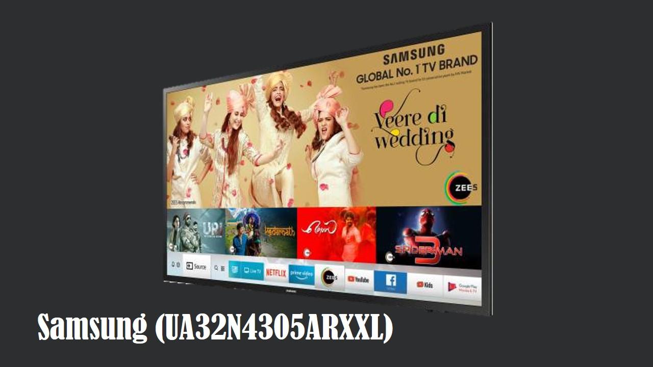 Samsung 7-in-1 80cm (32 inch) HD Ready LED Smart TV (UA32N4305ARXXL)
