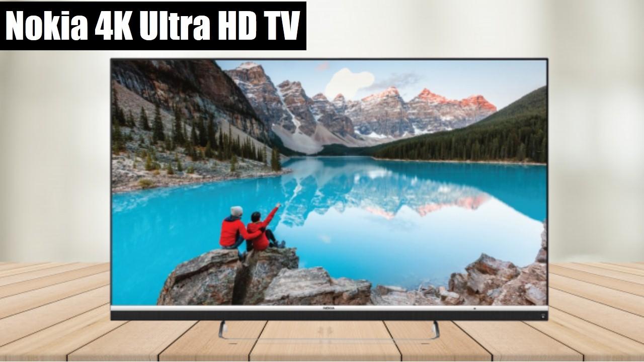 Nokia 108cm (43 inch) Ultra HD (4K) LED Smart Android TV (43CAUHDN)