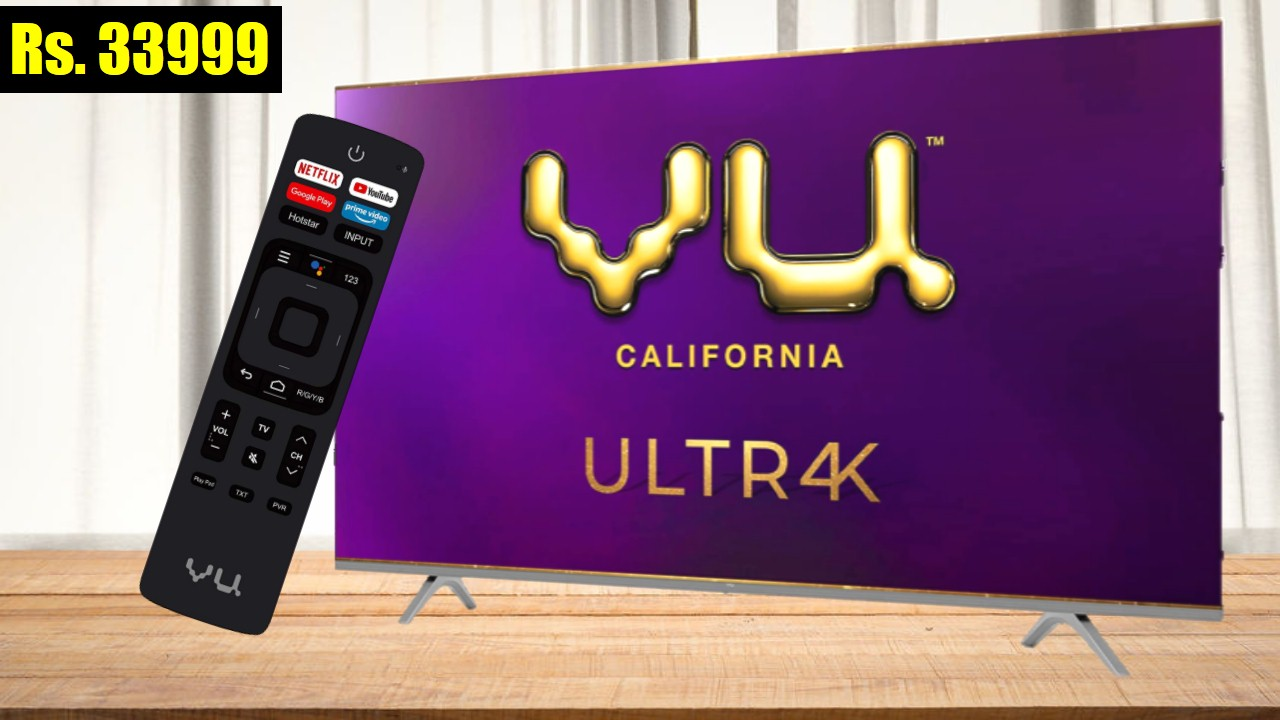 Vu 55-inch 4K Ultra HD Smart Android TV 55UT