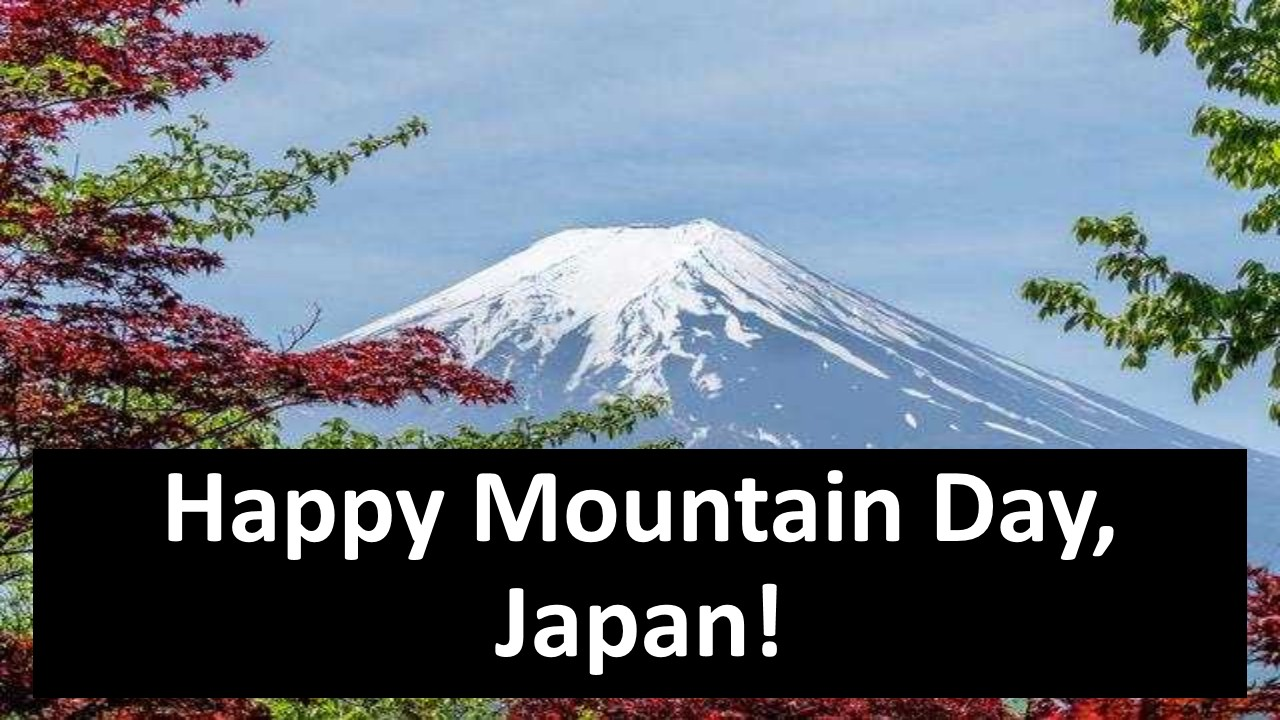 Mountain Day 2020