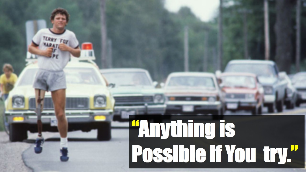 Terry Fox Quote