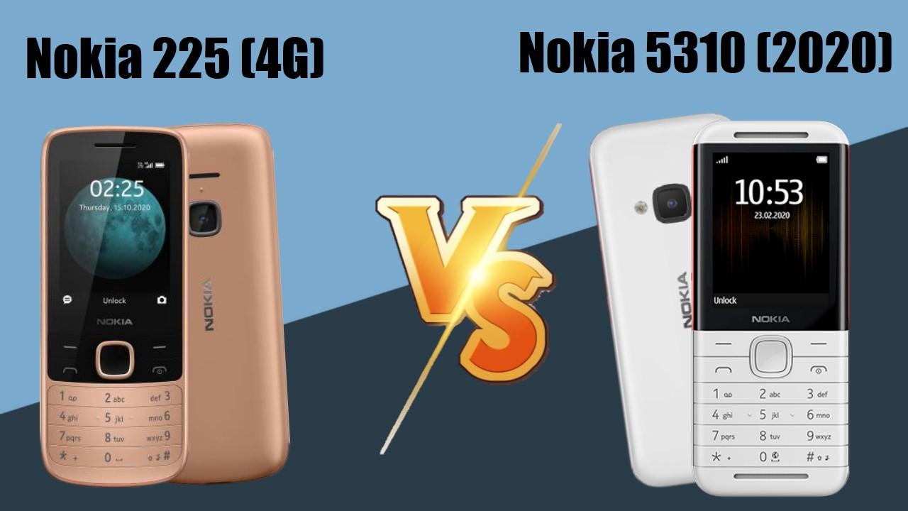 Nokia 225 4G vs Nokia 5310 (2020)