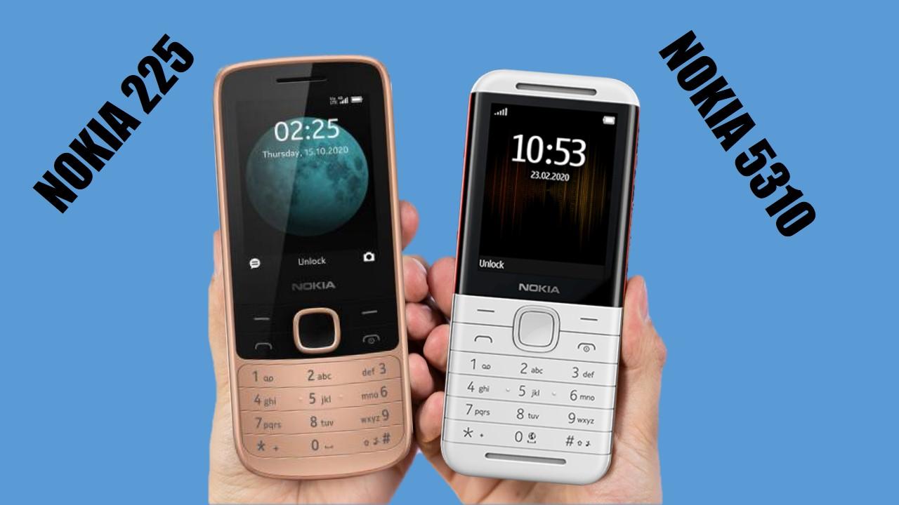 Nokia 225 4G vs Nokia 5310 2020