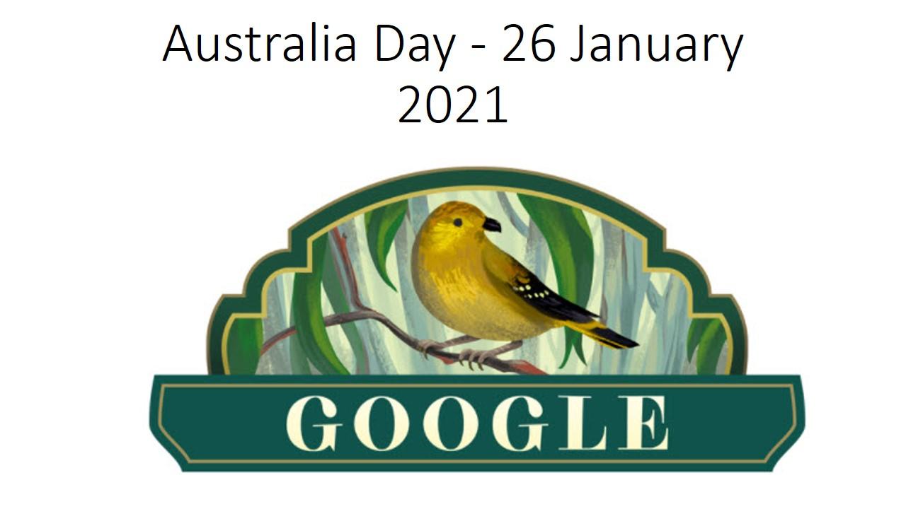 Australia Day - 26 January 2021