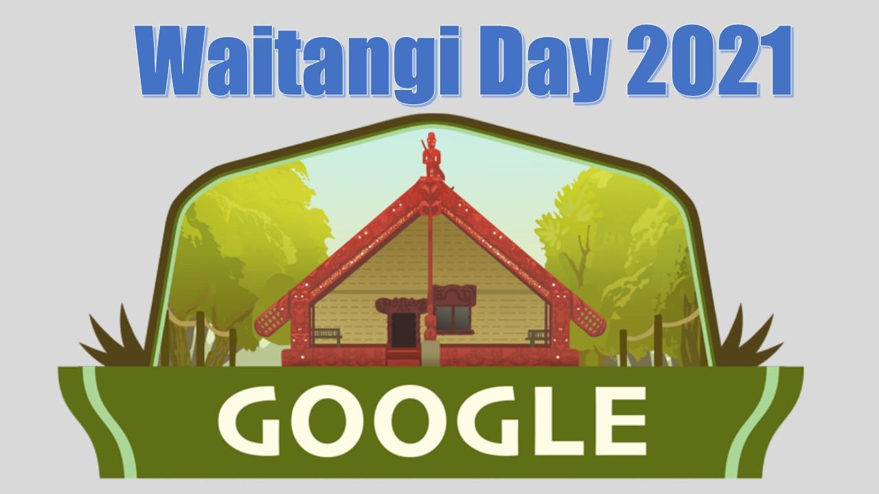 Waitangi Day 2021 #GoogleDoodle