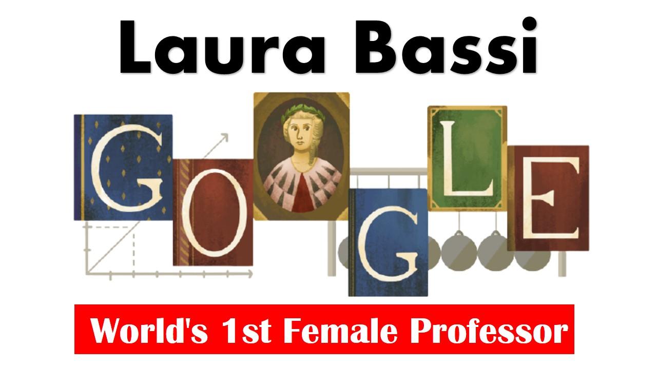 Laura Bassi  Google Doodle celebrates world's first female ...
