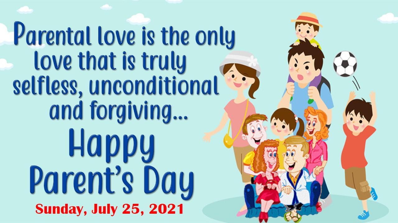 Happy Parents' Day 2021